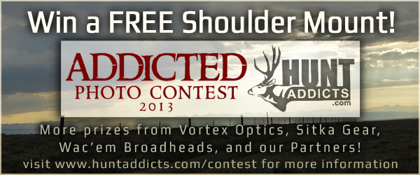 Win a Free Shoulder Mount, Vortex Optics, and Sitka Gear!